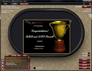 RakeBackRolls and DonkeyFishPoker Freeroll Win